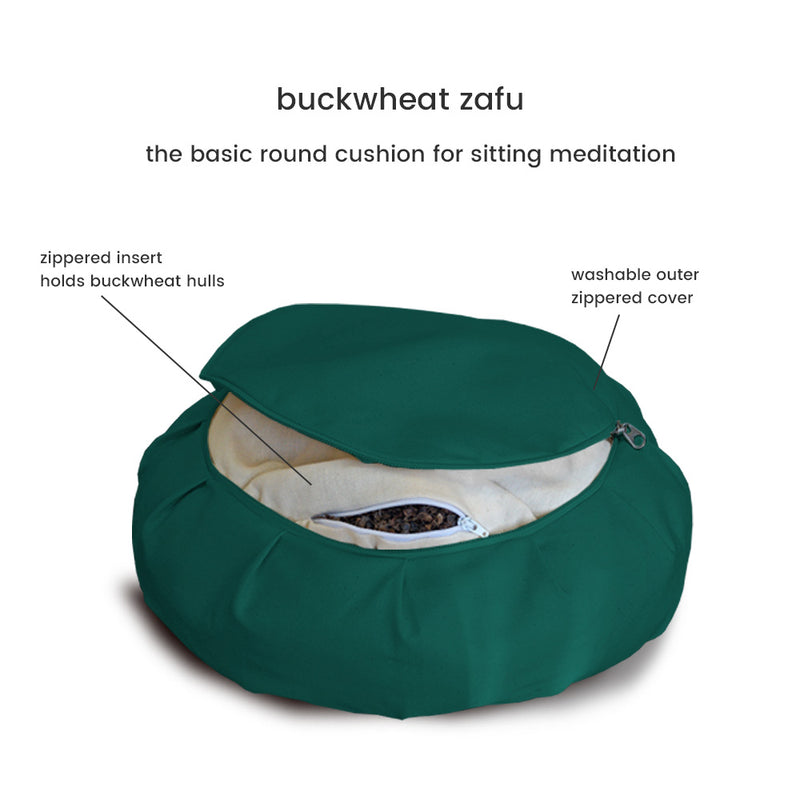 Studio Buckwheat Hull Zafu
