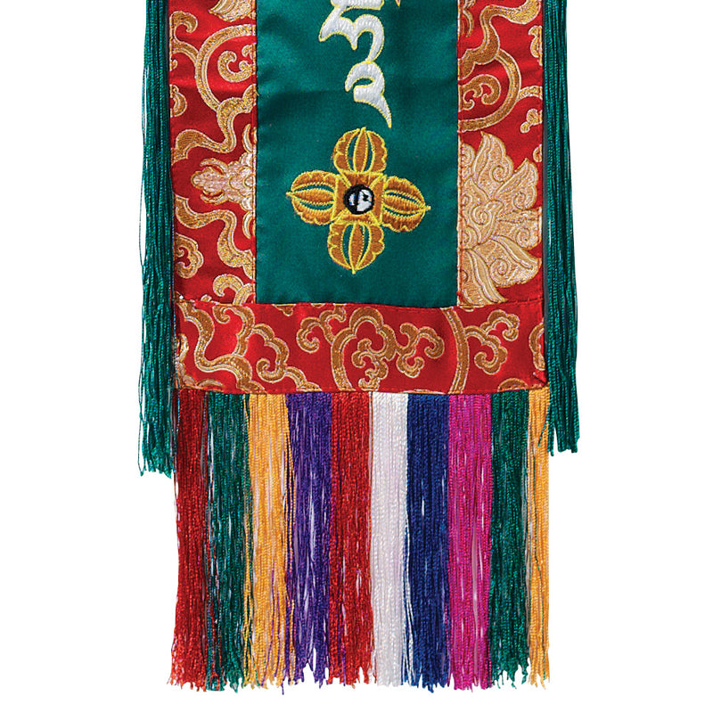 Green Tara Embroidered Hanging