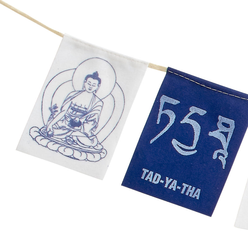 Three Deity Mini Prayer Flag Set
