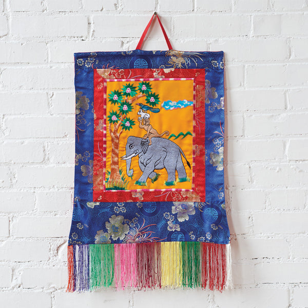 Four Harmonious Brothers Wall Hanging