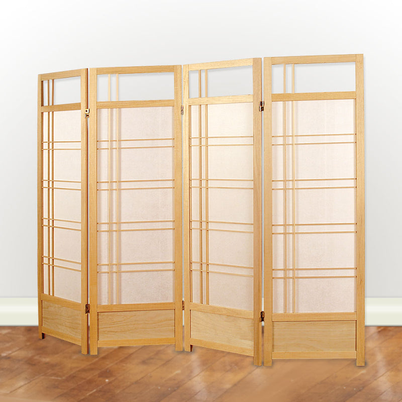 "Natural Shoji Screen, 55"" h"