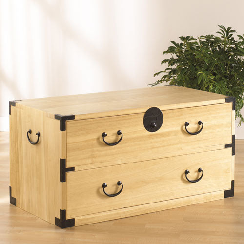 Large Two Drawer Tansu