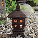 Empty Light Garden Lantern