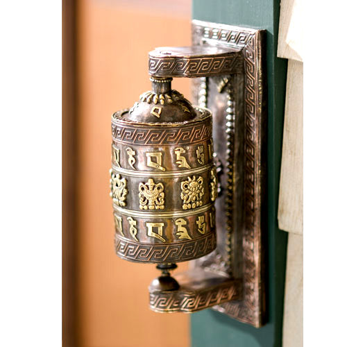 Wall-Mounted Prayer Wheel