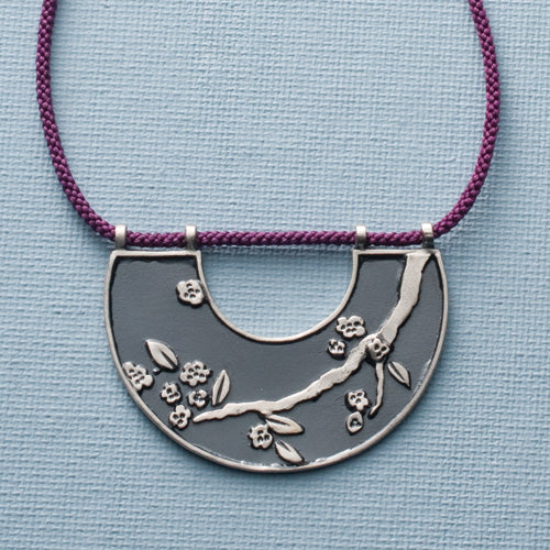 Spring Blossoms Pendant Necklace
