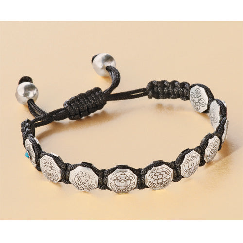 Eight Auspicious Symbols Protection Bracelet