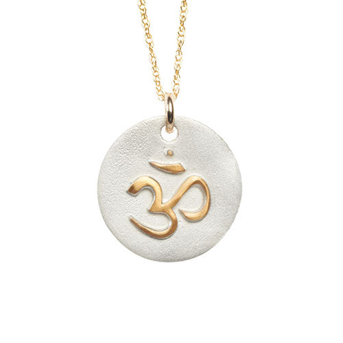 Golden OM Necklace