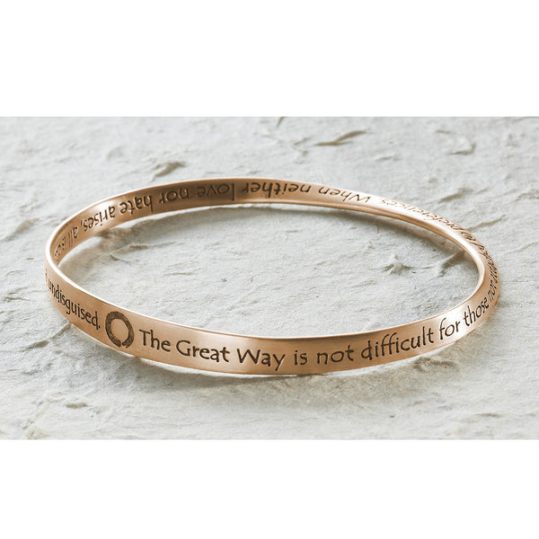 Great Way Bracelet, 14k gold