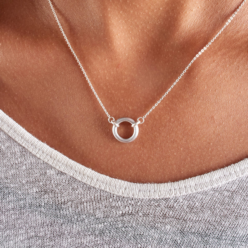Circle of Peace Yoga Necklace