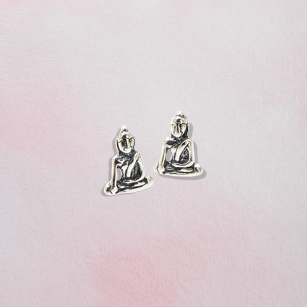 Tiny Buddha Earrings