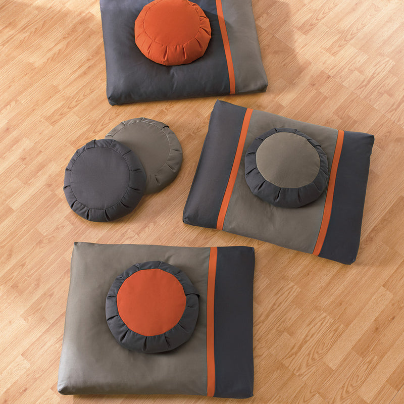Mountain Temple Meditation Cushion Set