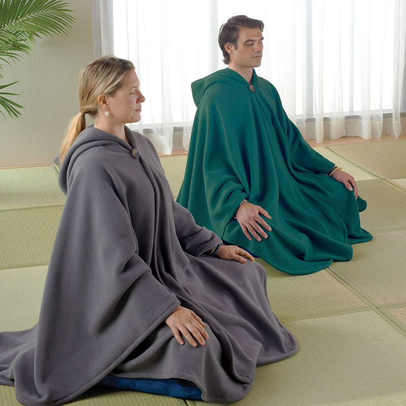 Polartec Fleece Meditation Cloak | Mediation Clothing | DharmaCrafts