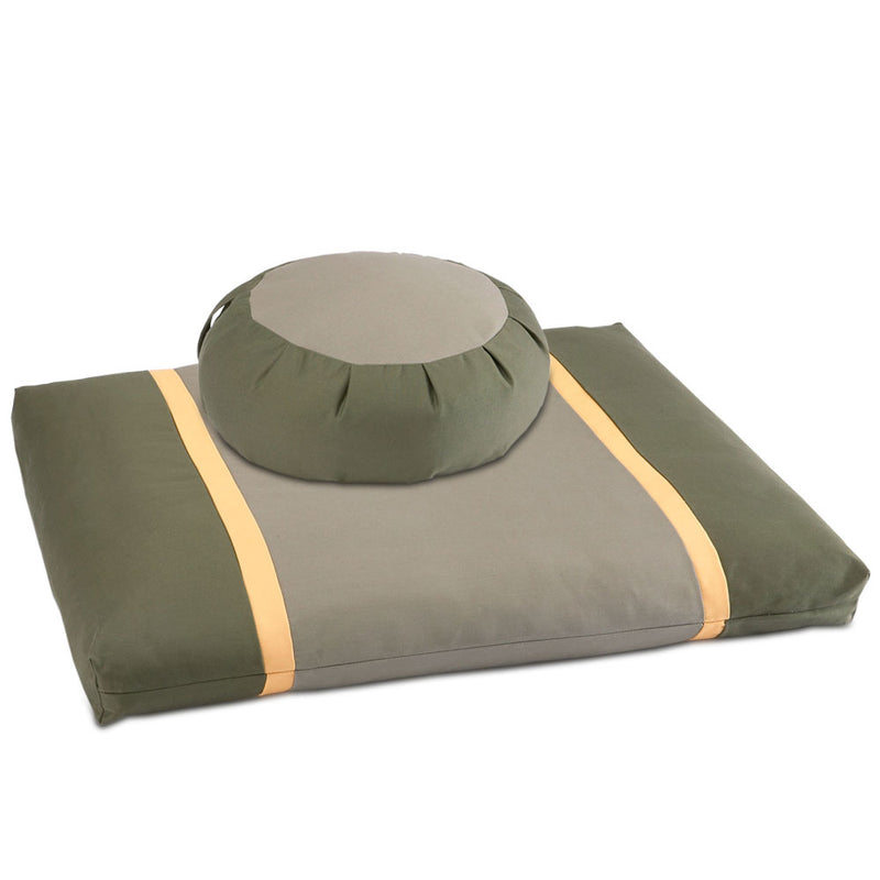 Forest Path Meditation Cushion Set