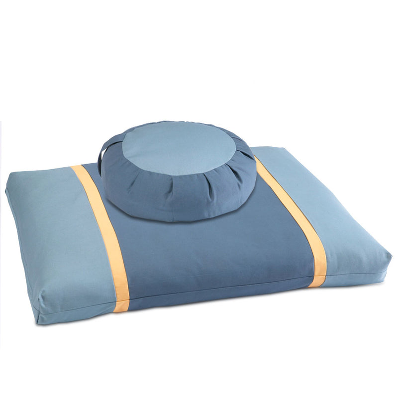 Blue Moon Meditation Cushion Set