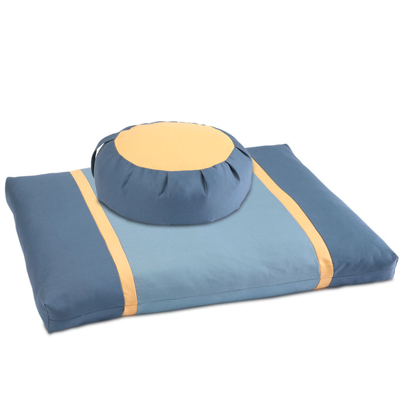 Gold Moon Meditation Cushion Set