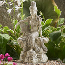 Moonlight Royal Ease Kuan Yin Statue