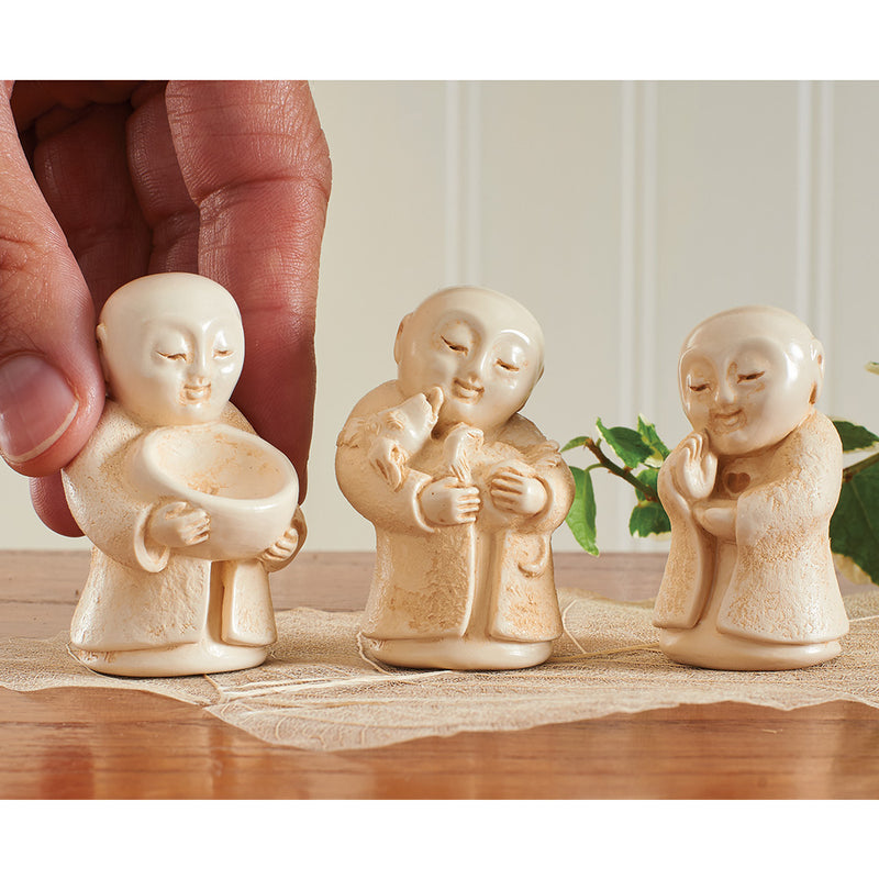 Protector of Animals Jizo Statue Set