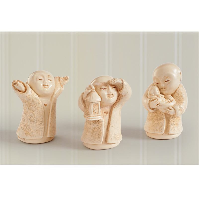 Guiding the Way Jizo Statue Set