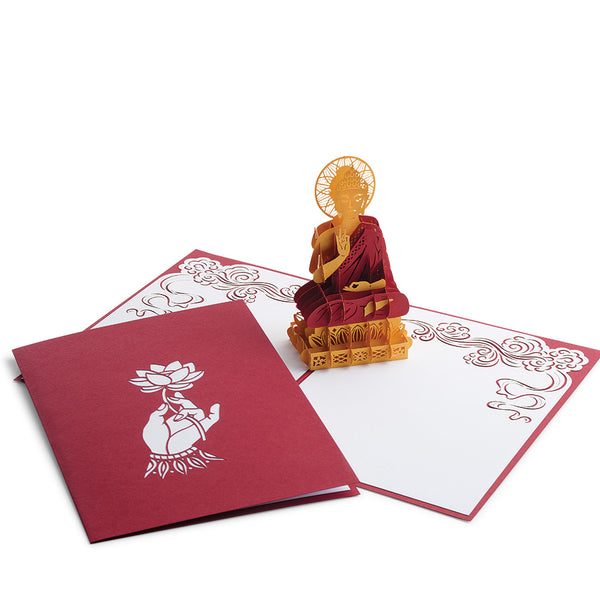 Buddha Pop-Up Greeting Card