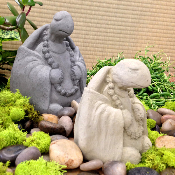 Zen Turtle Garden Sculpture