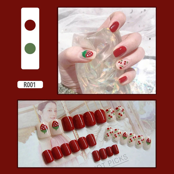 2020 NAIL STICKERS, REMOVABLE FAKE NAILS - asxox.com