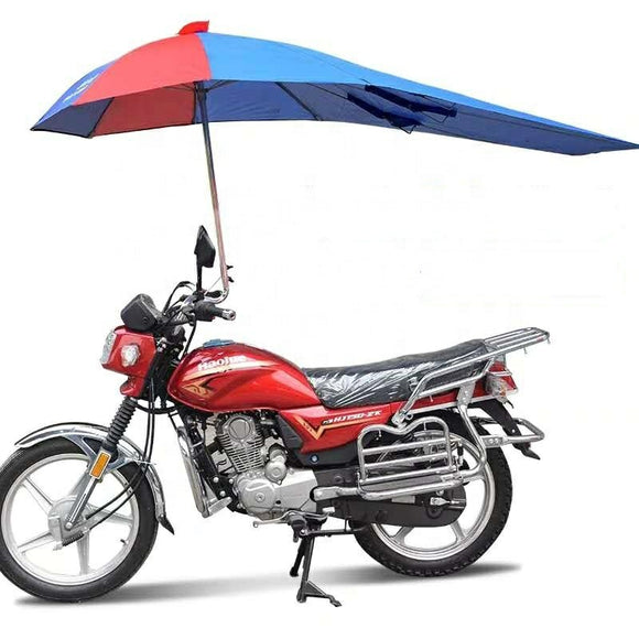 Windproof Electrical Scooter Bicycle Bike Motorbike Motorcycle Umbrella For Rain And Sunshade - asxox.com