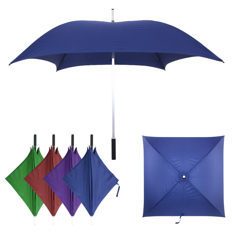 Promotion Big Size High Quality Aluminum Golf Square Umbrella - asxox.com