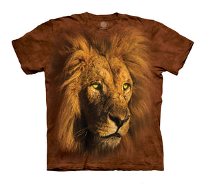Proud King Lion Adults T-Shirt