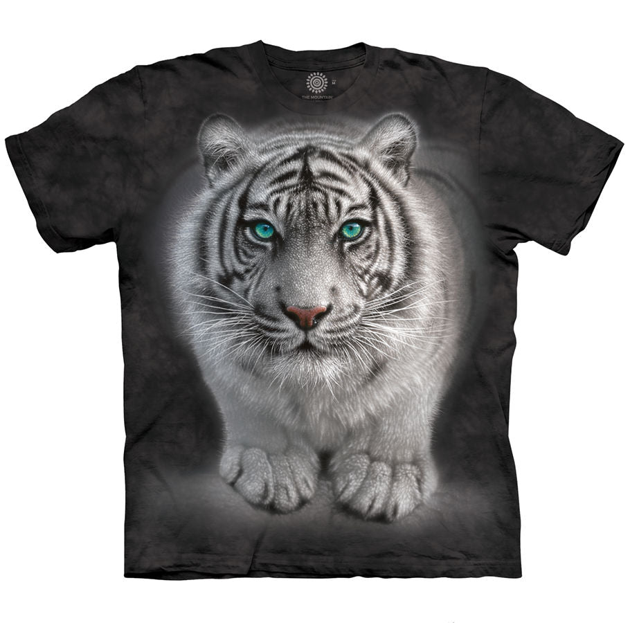 Wild Intentions White Tiger Adults T-Shirt