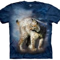 Silent Spirit Lynx Adults T-Shirt