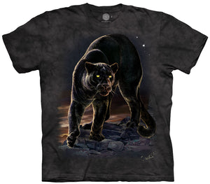 Panther Portrait Adults T-Shirt