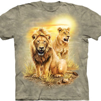 Lion Pair Adults T-Shirt