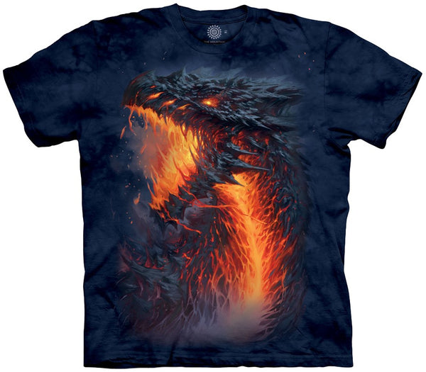 Lavaborn Dragon Adults T-Shirt