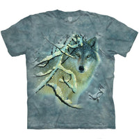 Broken Silence Wolf Adults T-Shirt