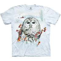 Country Owl Adults T-Shirt
