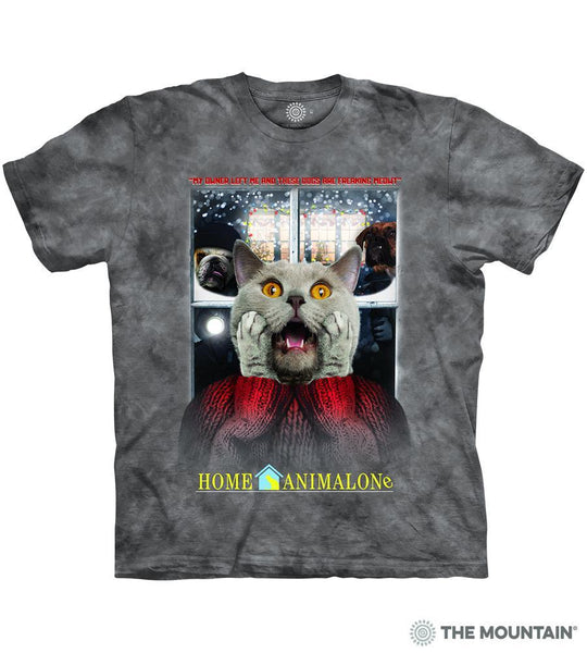 Pre-Order: Home Alone Cat Adults T-Shirt