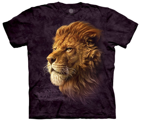 Lion King of the Savanna Adults T-Shirt