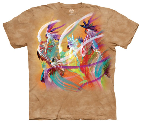 Rainbow Dance Adults T-Shirt