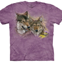 Spring Wolves Adults T-Shirt