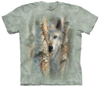 Focused Wolf Adults T-Shirt