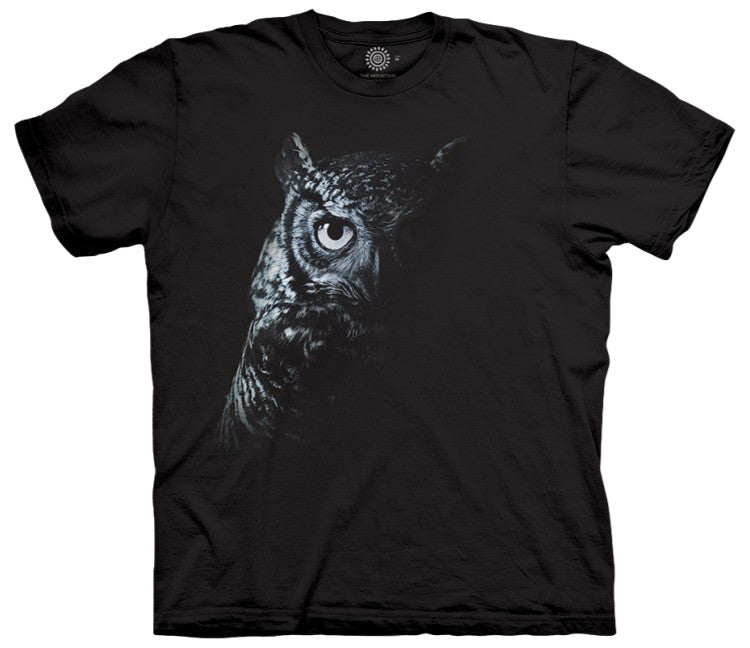 Shadow Owl Adults T-Shirt