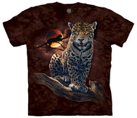 Blood Moon Leopard Adults T-Shirt