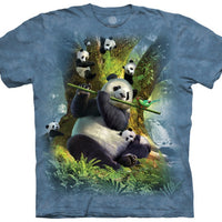 Pan Da Bear Adults T-Shirt