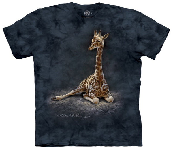 Giraffe Calf Adults T-Shirt