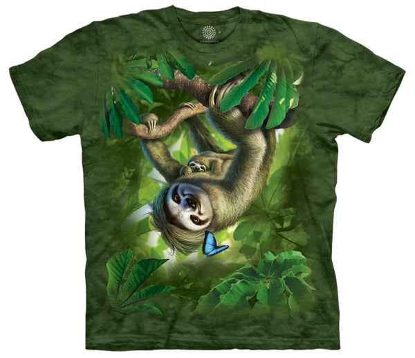Sloth Mama Adults T-Shirt