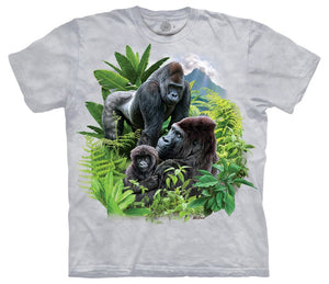 Gorilla Family Adults T-Shirt