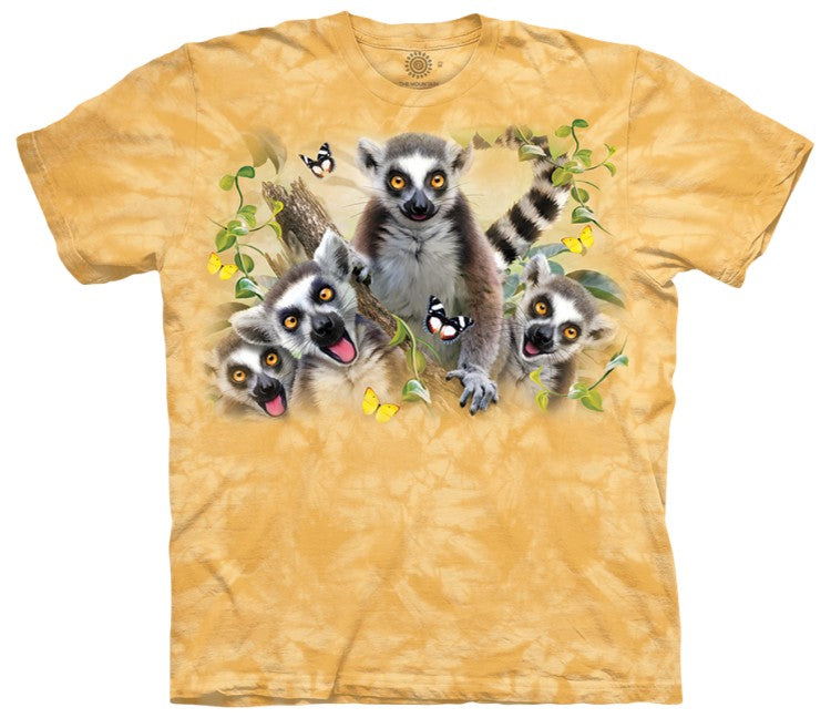 Lemur Selfie Adults T-Shirt