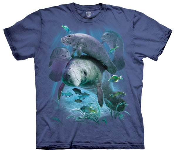Manatee Pod Adults T-Shirt