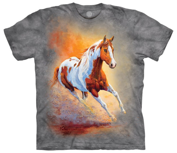 Sunset Gallop Adults T-Shirt