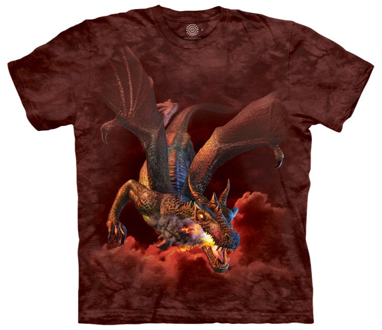 Furnace Face Dragon Adults T-Shirt